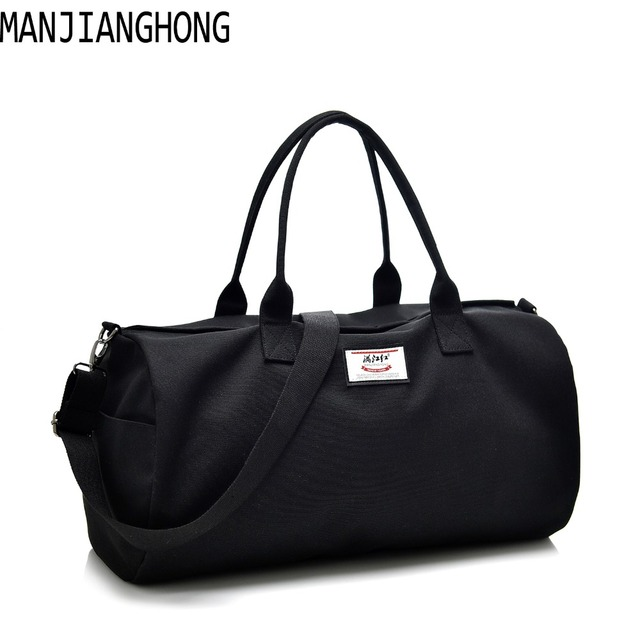2018 Fashion Canvas Men Women Uni Travel Totes Bags Large Weekend Handbags Male Female Portable Shoulder