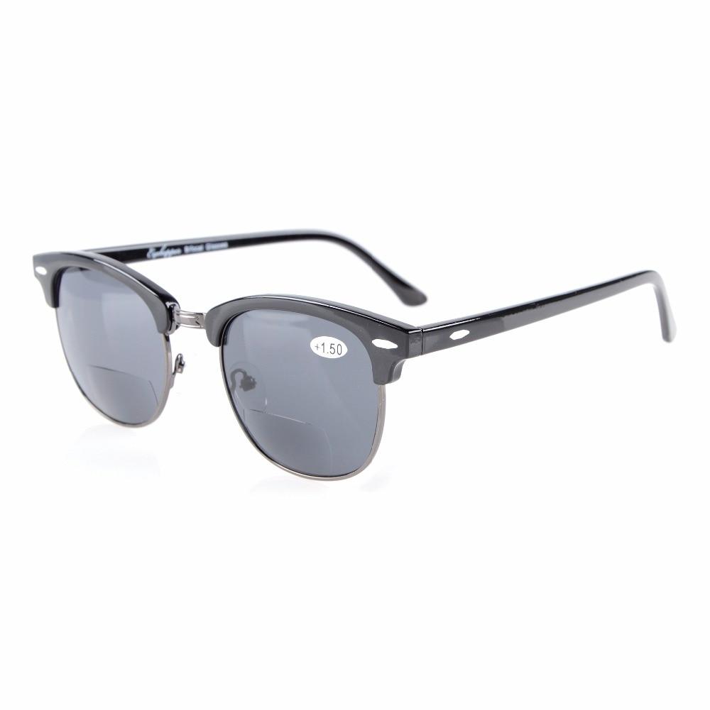 R128 eyekepper semi sin montura bifocales Gafas de Sol para mujer ...