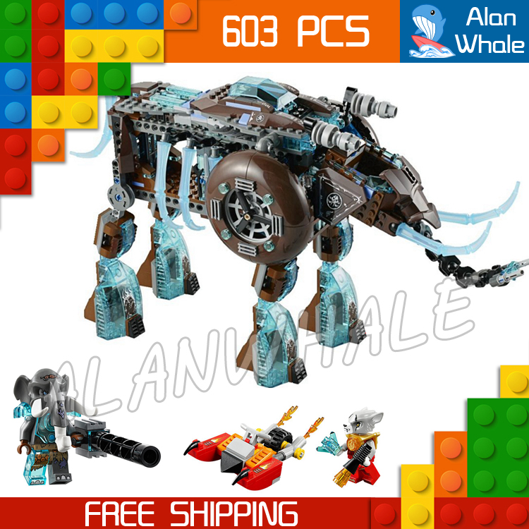 603pcs Bela 10297 Maula's Ice Mammoth Stomper learn education enlighten Model building blocks Kids Toys Compatible with Lego 603pcs bela 10297 maula s ice mammoth stomper learn