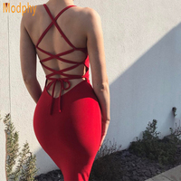 Women spaghetti straps busty sexy open back stretchy elastic mini club party celebrity bandage dress party drop shipping HL702