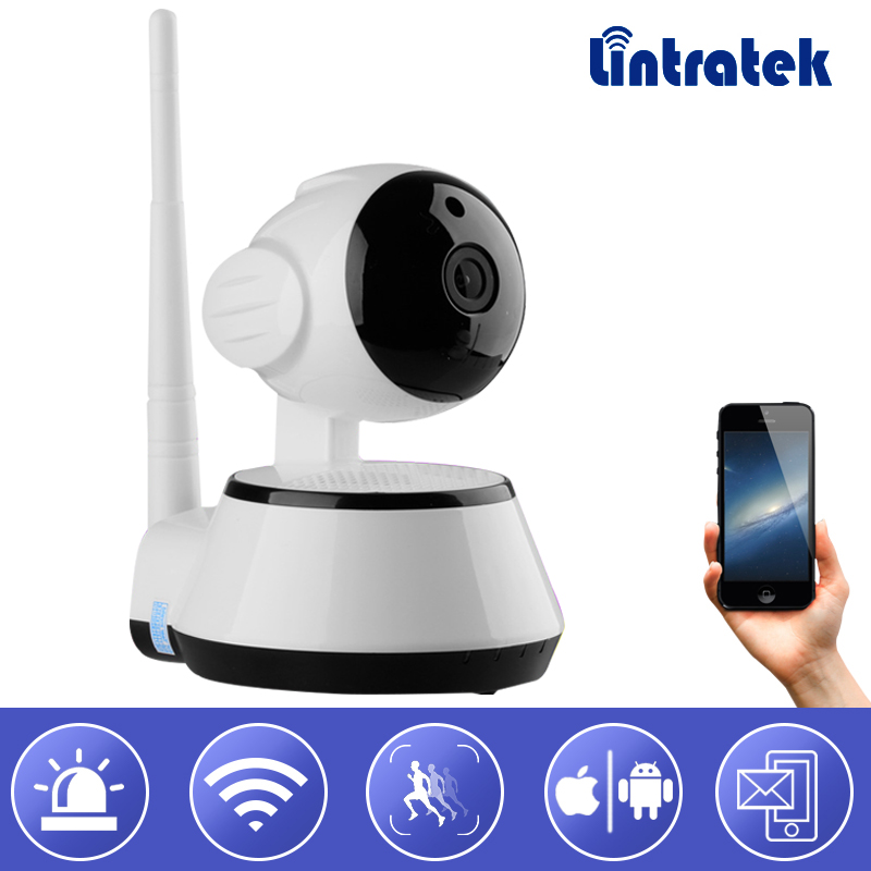 Surveillance Video Camera IP Camera Wifi hd 720P Wireless Security Mini Camera Infrared Night Vision Baby Monitor Lintratek