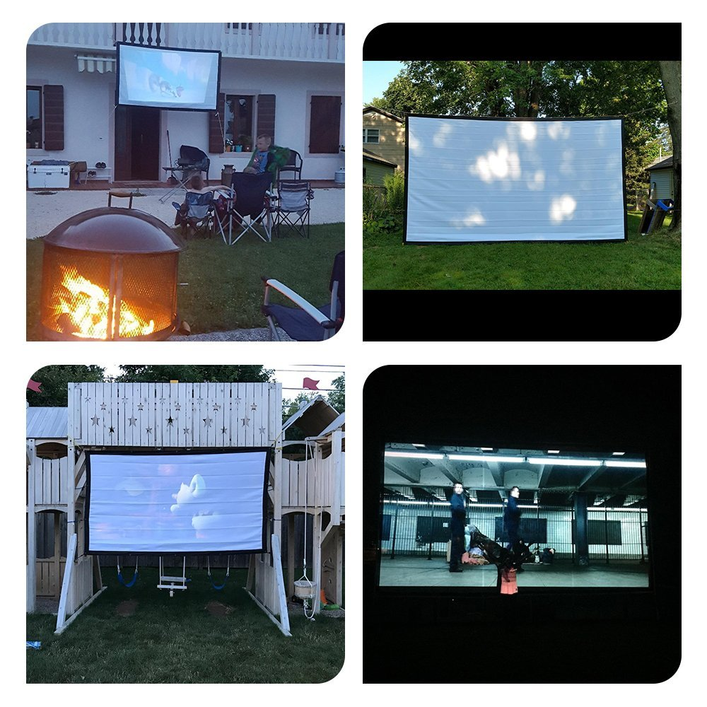 portable projection screens