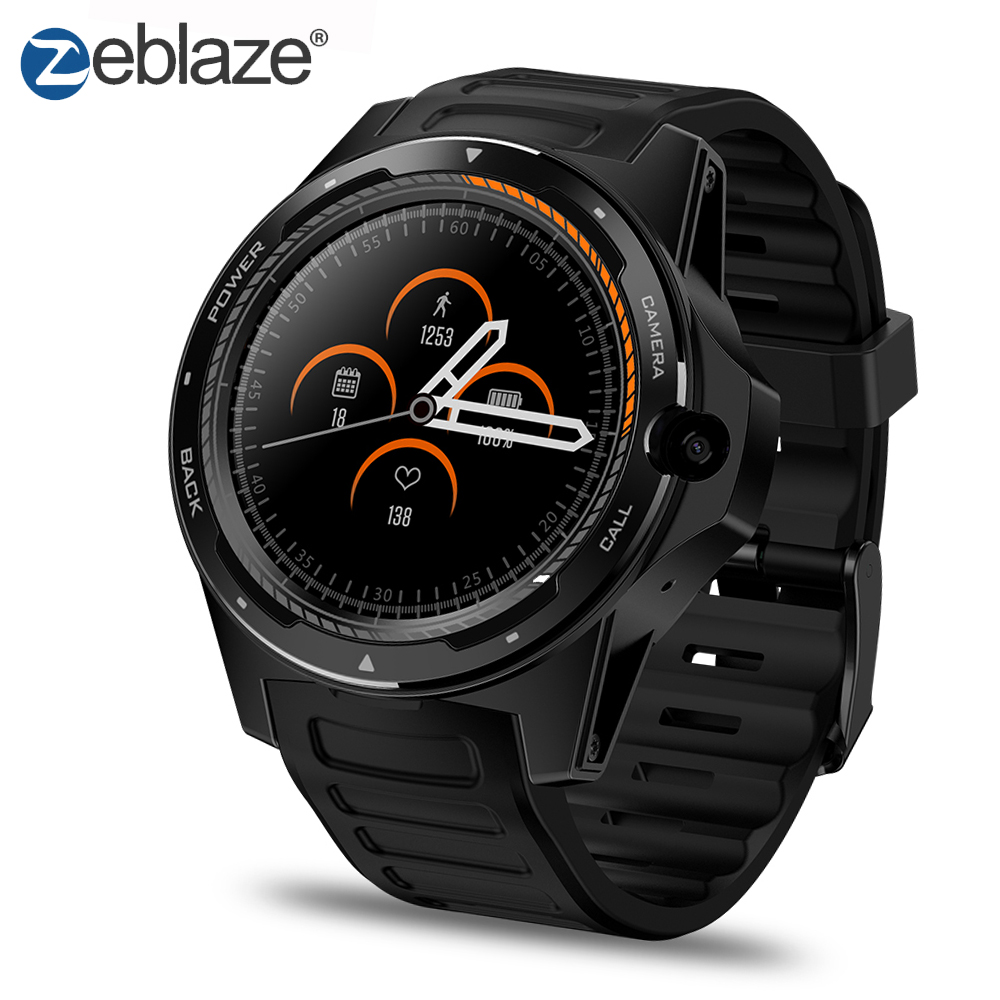 Zeblaze Thor 5 1.39 AMOLED 4G LTE Dual System Dual Chipset Hybrid Smart Watch Android 7.1 16G ROM GPS Wifi 8.0MP HD Camera.Zeblaze Thor 5 1.39 AMOLED 4G LTE Dual System Dual Chipset Hybrid Smart Watch Android 7.1 16G ROM GPS Wifi 8.0MP HD Camera.