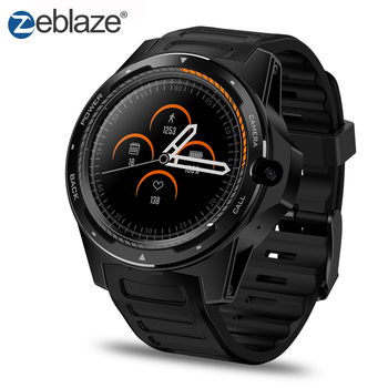 Zeblaze Thor 5 1.39'' AMOLED 4G LTE Dual System Dual Chipset Hybrid Smart Watch Android 7.1 16G ROM GPS Wifi 8.0MP HD Camera.