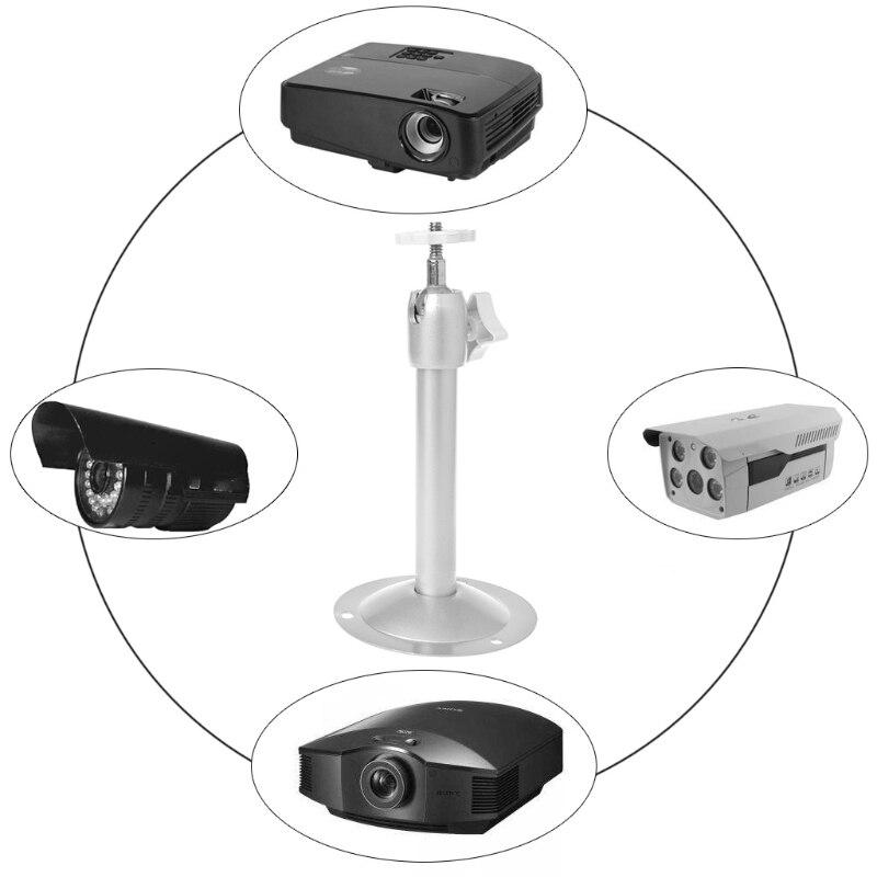 Новое поступление, 1 предмет 360 градусов Регулируемый потолочный держатель для проектора стенд настенный кронштейн для проектора металлический поворотный кронштейн