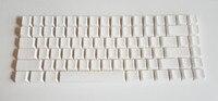 Noppoo choc mini 84 white Blank print PBT keycap plum 84 mechanical keyboard cherry mx NIZ 84 keys mini84