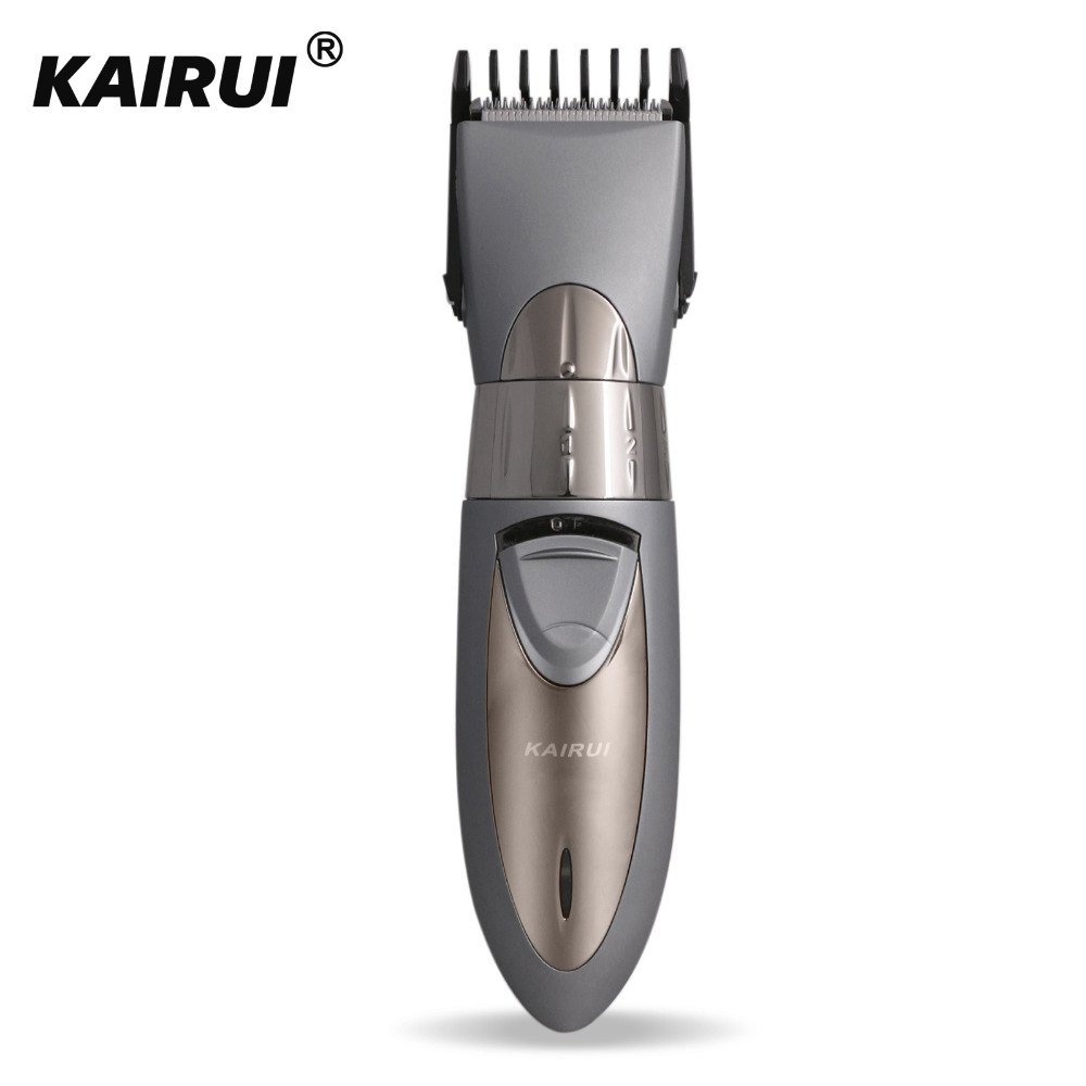 KaiRui Waterproof Professional Electric Shaver Hair Trimmer Child Men Electric Hair clipper Razor Haircut Beard Cutting Machine delicate rhinestone filigree butterfly solid color ear cuff for women