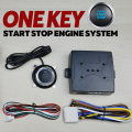 Hottest START STOP Engine system push button keyless entry system with start-stop button car alarm remote engine start button