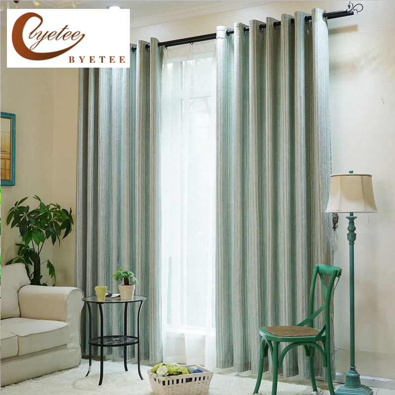 Kitchen Curtains Fabric Curtains Fabric Stripe Drapes: Aliexpress.com : Buy [byetee] Chenille Kitchen Curtains
