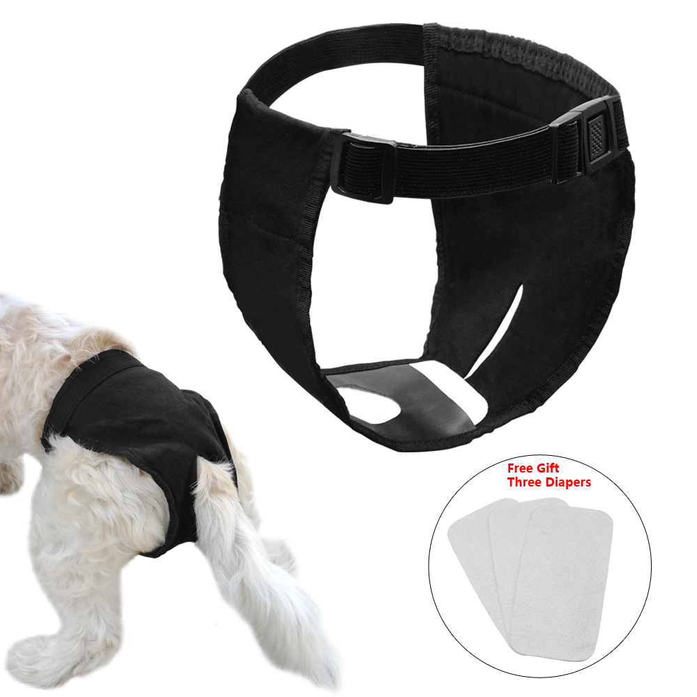 Female Dog Physiological Pants Washalbe Puppy Cat Underwear Suspender Shorts Diaper Sanitary For Small Meidium Large Girl Dogs
