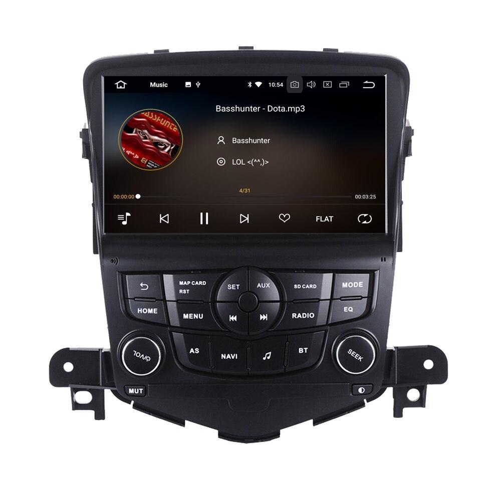 Lecteur multimédia d'autoradio Octa Core Android 8.0 pour Chevrolet Cruze Lacetti 2 Automotivo GPS Navigation navigateur stéréo