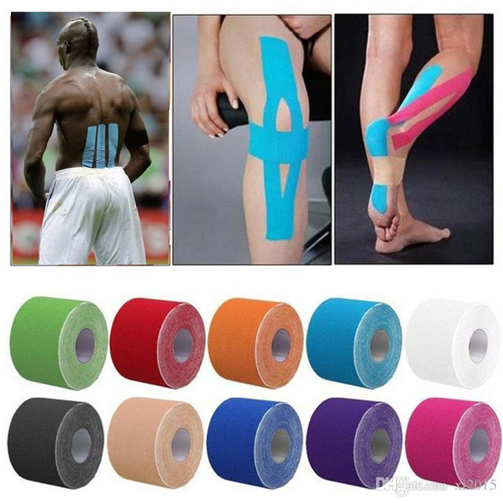 11 color Tape Muscle Bandage 5cm*5m Elastic Adhesive Strain Injury muscle Sticker Sport Kinesiology Tape Roll Cotton11 color Tape Muscle Bandage 5cm*5m Elastic Adhesive Strain Injury muscle Sticker Sport Kinesiology Tape Roll Cotton