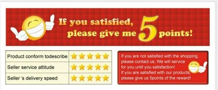 full 5 star feedback