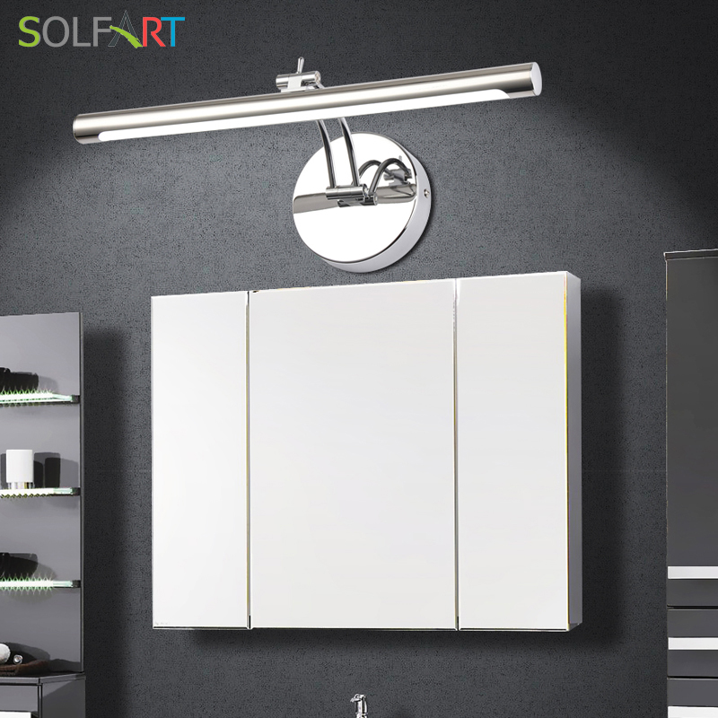 SOLFART lamp sconce wall lights bathroom lighting mirrors modern led sconce wall lights mirror cabinet Mirror front lamp 5890-7