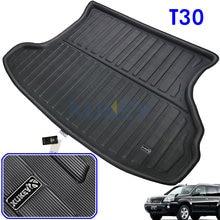 Accesorios para Nissan x-trail T30, 2001, 2002, 2003, 2004, 2005, 2006, 2007, bandeja trasera, forro de maletero, estera de suelo de carga, Xtrail