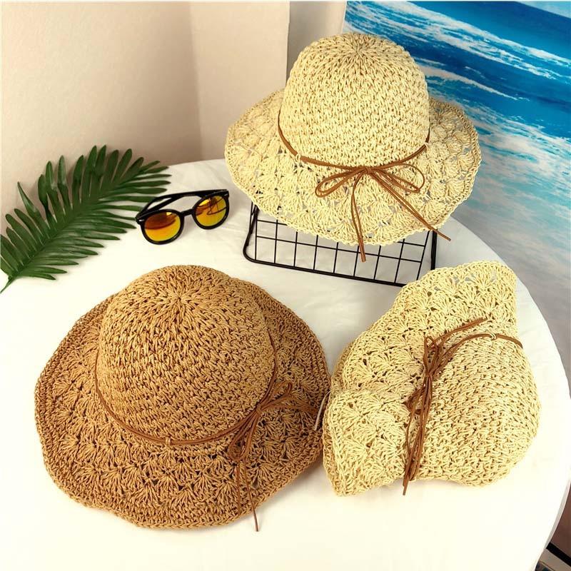 Women 39 s Summer Beach Hat Small Fresh Fisherman 39 s Hat Korean version Baitao Beach Straw Hats Seaside Sunshade Sunscreen Cap in Beach Caps from Sports amp Entertainment