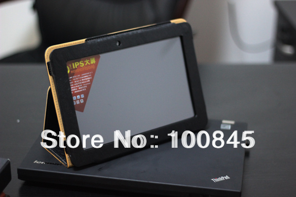 wholesale Ainol NOVO10 Hero Leather Case Cover + Free Screen Protector as Gift
