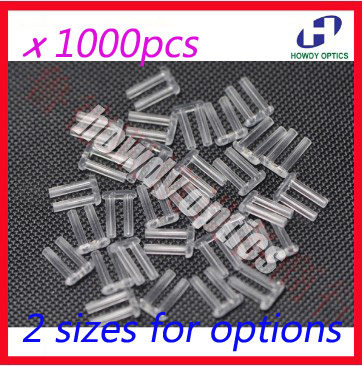 1000pcs 1.4mm Or 1.5mm X 7mm X 0.8mm Rimlesses Glasses Double Rubber Plug Eyeglasses Lock Plastic Pins Double Bushing Accessoies Good For Antipyretic And Throat Soother