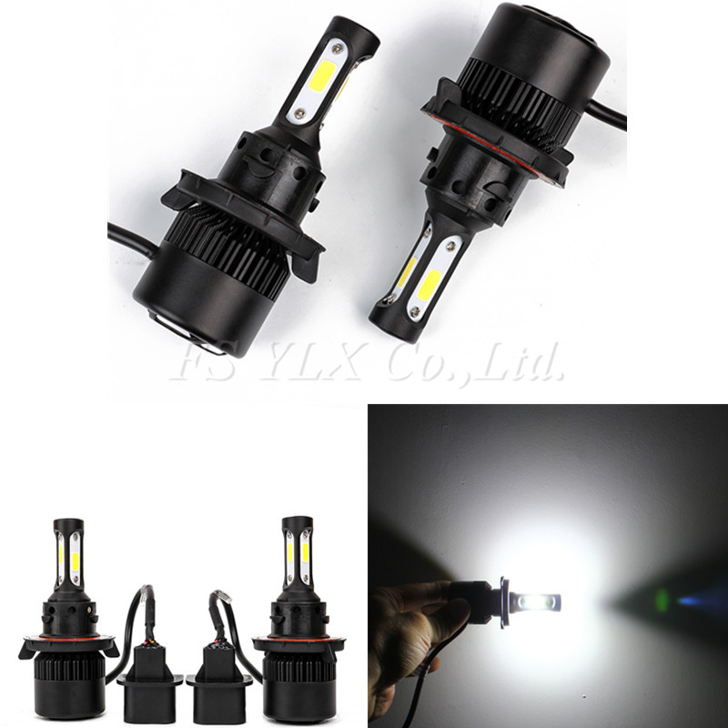 H13 72W COB LED auto Headlight Bulb Pure White 6500K 8000LM Driving Headlight All In One Hi-Lo beam led Fog Head lamp 12v 24v дефлектор auto h k gt 36964