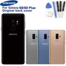 Оригинальная задняя крышка для samsung Galaxy S9 SM-G9600 S9 + S9 Plus S9Plus G9650 задняя крышка корпуса