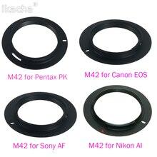 M42 Винт для крепления объектива камеры переходное кольцо аксессуары для SONY AF Minolta Alpha для Canon EOS для Nikon AI для Pentax PK объектив