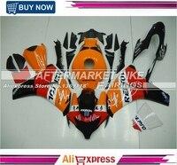 Free Shipping Repsol Decal Oranage Fairing Bodywork For Honda 2008 2011 CBR1000RR 08 11 CBR1000 RR Motorbike Parts