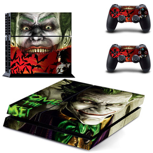 Image 4 - Joker For PS4 Vinyl Skin Sticker Cover for Sony PlayStation 4 Console and 2 controller Decal Cover Game Accessories