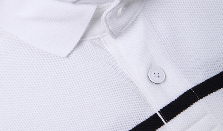 Polo Men Fashion Casual Classic Striped Golf Polo Shirt Slim Fit Summer Cotton Short Sleeve Tee Camisa Polos Homme Plus Size 3XL (5)
