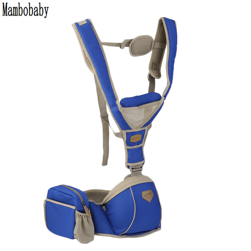 HOT!MAMNOBABY Baby Carrier Ergonomic Infant Kangaroo Ergonimic Design Baby Carrier Sling Backpack Waist Seat Hipseat New Sale baby carrier new design kids waist stool walkers baby sling hold waist belt backpack hipseat belt kids infant hip seat zl438