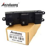 Front Left Hand Drive Side Power Window Regulator Master Switch 25401 EB30B 25401EB30B For Nissan Pathfinder