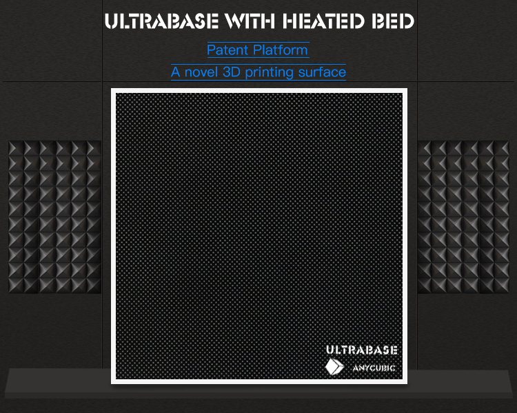 Anycubic Ultrabase 3D printer Platform Heated bed Build Surface Glass Plate 220x220x6mm compatible with Prusa I3 MK2 MK3 Hot bed (2)