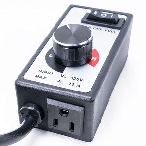 Image 4 - جهاز تحكم في سرعة المروحة متغير 3 إعدادات الزراعة المائية مضمنة مروحة العادم الهواء 500 واط إلى 1800 واط الضابط الولايات المتحدة التوصيل تعزيز