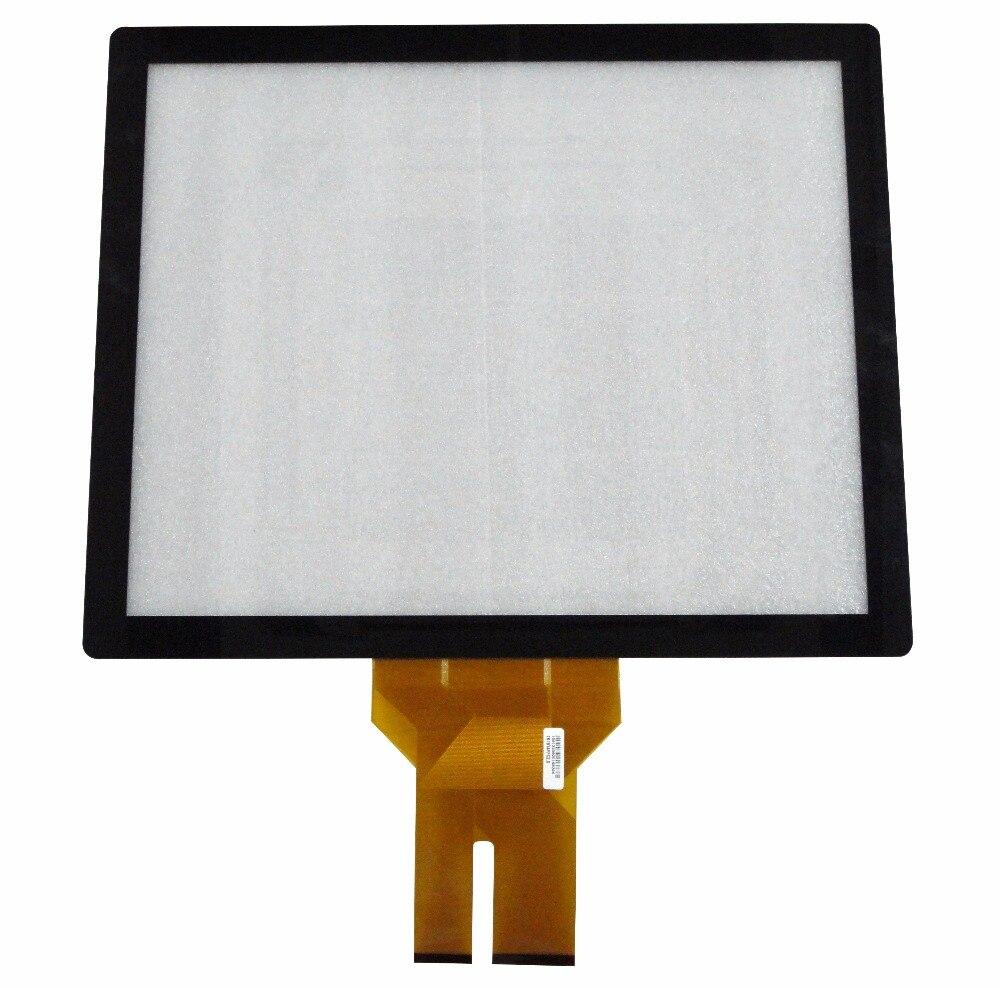 18,5 дюймов дешевые нескольких емкостный сенсорный экран со стеклом/емкостный сенсорный экран накладной вставкой комплект для сенсорного ст