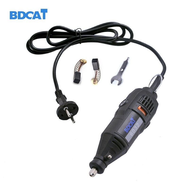 BDACT Новый 220 В 180 Вт электрический Dremel вращающийся инструмент с переменной скоростью Мини дрель шлифовальный станок с вилкой европейского ст...