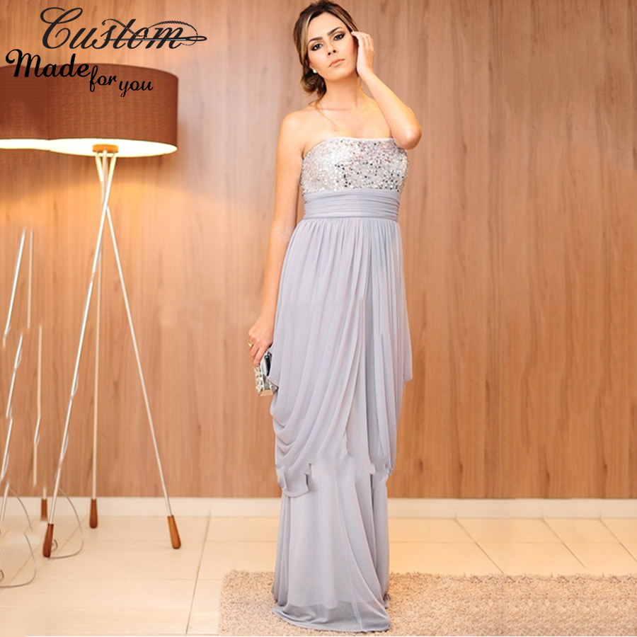 Aliexpress buy elegant long chiffon empire waist maternity aliexpress buy elegant long chiffon empire waist maternity evening dresses plus size sequined tiered formal party dress for pregnant women 2016 from ombrellifo Images