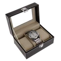 Коробка для часов коробка для хранения подарочная упаковка коробки для показа ювелирных изделий 5 сетки Роскошная искусственная кожа