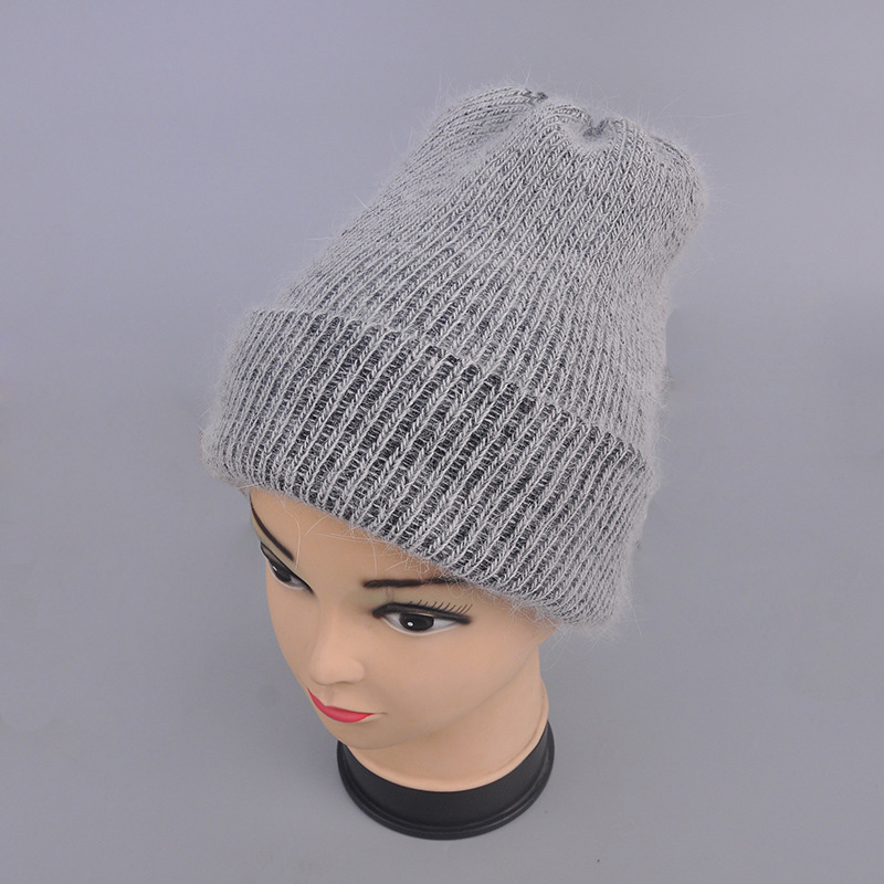 Women's hats autumn winter knitted wool beanies hats 2017 new arrival casual caps good quality female hat Hot  (15)