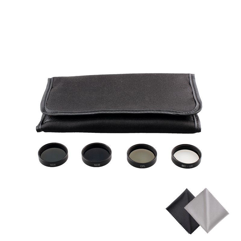 Travor 2017 Fashion Neutral Density ND4 ND8 ND16 ND32 Lens Filter kit for DJI Phantom 4
