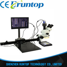 Best price Newest ACHI TBK-45L Best Multi-function Microscope Move Electronic Digital Display 7-45x Zoom Operating CPU Microscope Maintena