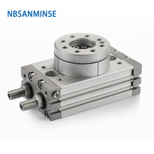 NBSANMINSE MSQB1 50 70 100 200mm Rotary Table Air Cylinder Pneumatic Compressed Parts Type Pinion Air ( non - lube ) SMC