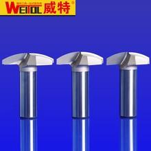 Weitol 1 pcs  12.7 mm wood cutting tools CNC Carbide tip Slotting bits CNC engraving machine thin professional Round bottom bit