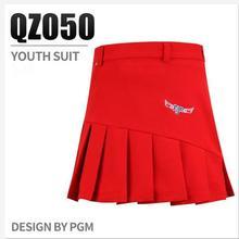 Летняя детская спортивная одежда для гольфа; однотонные спортивные шорты для девочек; дышащая быстросохнущая плиссированная юбка для гольфа