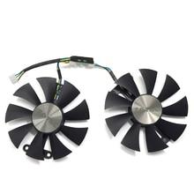 Original 87mm GA91S2H PC Cooling fan For ZOTAC GeForce GTX 960 AMP 980Ti GTX950 AMP 2GB GPU Graphics Video Card Cooling Fans original zotac video card geforce gtx 750 ti 2gb 128bit gddr5 graphics cards for nvidia gtx750ti gtx 750ti 2gd5 hdmi dvi vga