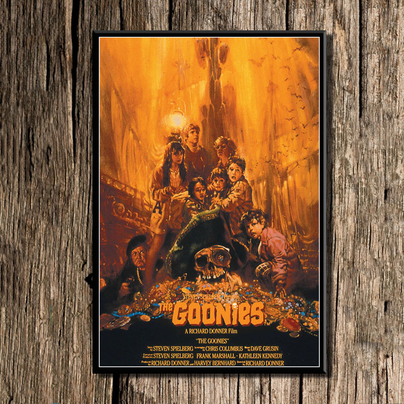 Canvas Painting Posters Goonies Home-Decor Wall-Art-Picture Classic Prints Movie
