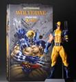 30 cm O Tema do Filme de Papel Kits Garagem, x-men Action Figure, Artigos de Mobiliário PVC Delicate Wolverine modelo com Caixa de Presente