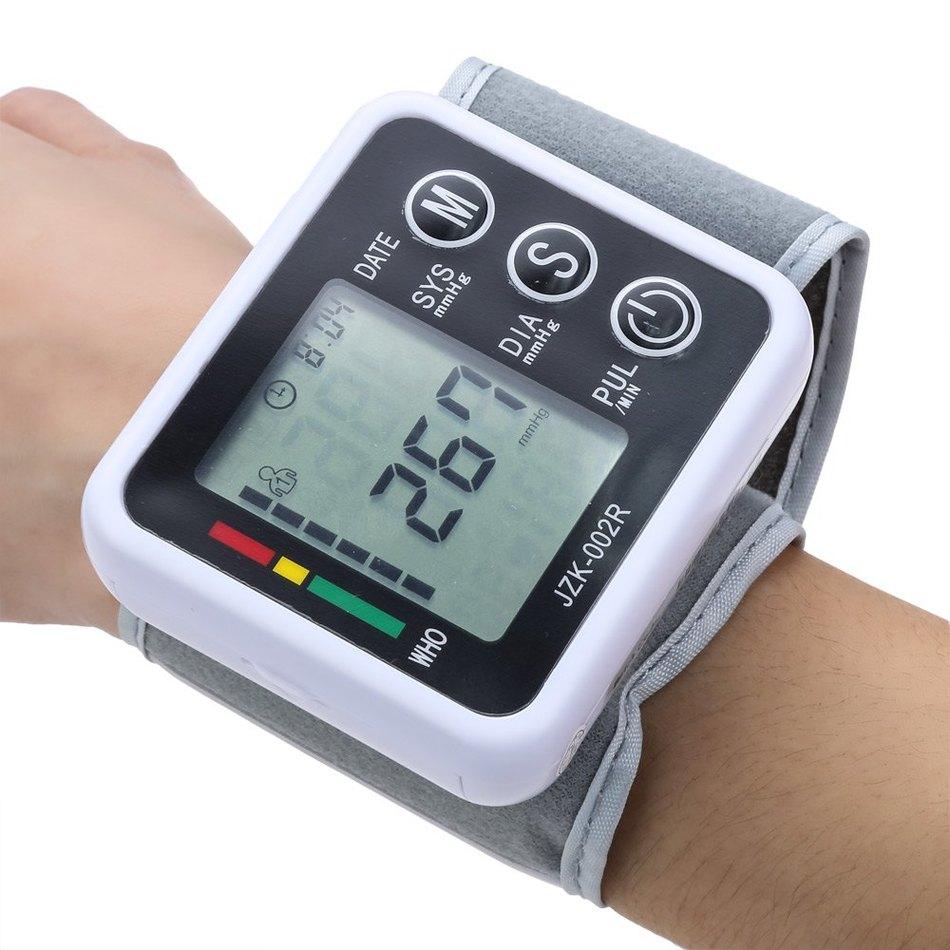 Automatic Bluetooth Arm Blood Pressure Pulse Monitor Health Care Digital Upper Portable Sphygmomanometer
