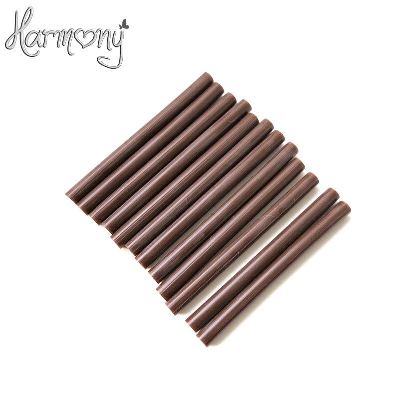 156 шт. Малый кератин Клей-карандаш для слияния человеческих волос Инструменты, используется с клеевой пистолет или плавления клея горячий г...
