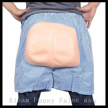 Cosplay Exposed Ass Shorts Halloween Supplies Masquerade Party Props Performances Fool's Day the Whole Person Props 2016 New Toy