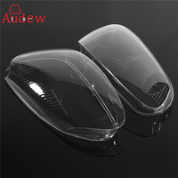1 Pair Front Right Left Car Side Headlight Clear Lens Plastic Cover Shell For Volkswagen GTI
