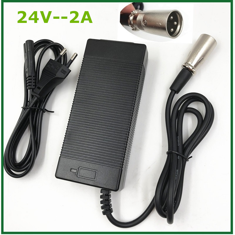 24V 2A <font><b>electric</b></font> scooter ebike <font><b>charger</b></font> loader <font><b>charger</b></font> <font><b>golf</b></font> <font><b>cart</b></font> wheelchair <font><b>charger</b></font> lead acid battery <font><b>charger</b></font> image